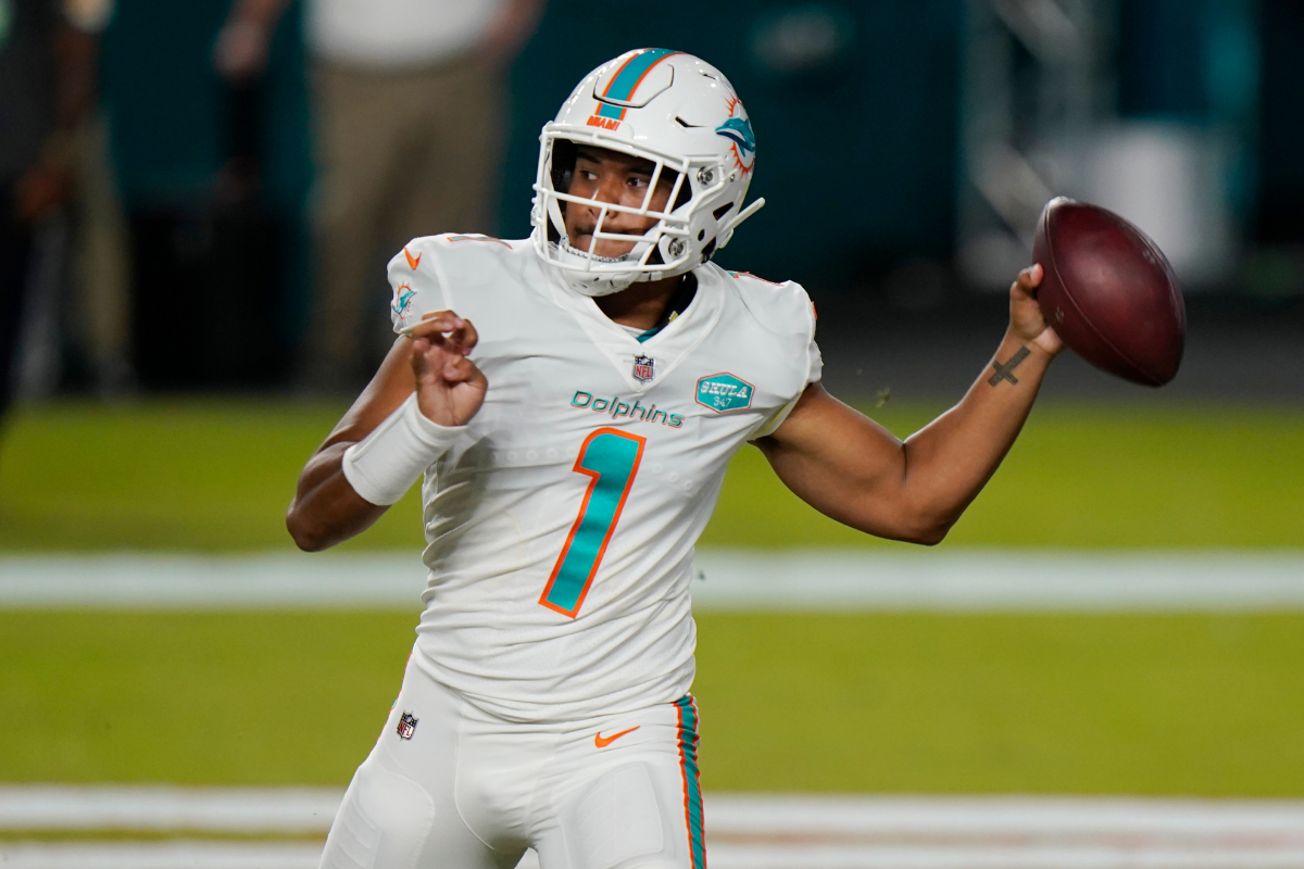 Tua Tagovailoa's Miami Dolphins Jersey is Already a Best-Seller