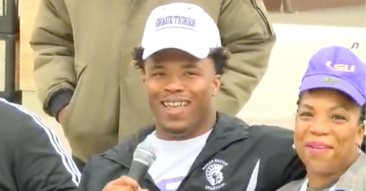 LSU's Next Star Running Back Commits to Tigers