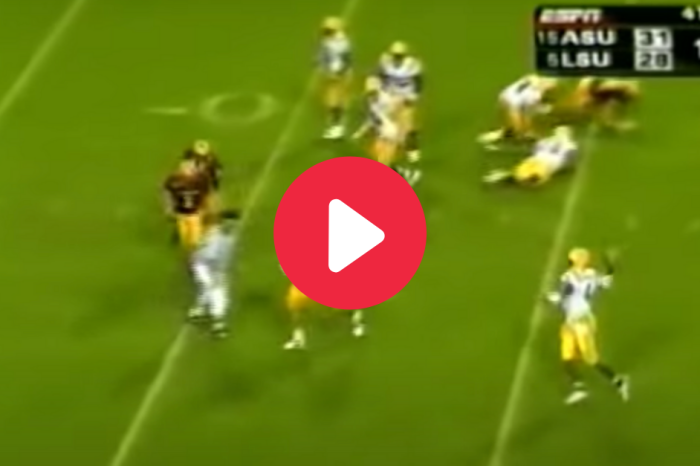 JaMarcus Russell's Game-Winning TD After Hurricane Katrina Healed LSU