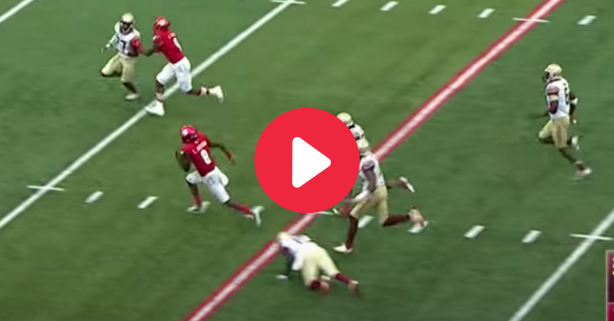 "Lamar Jackson's ""Heisman Moment"" Made FSU's Defense Look Silly"