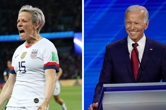 Megan Rapinoe Offers To Be Joe Biden's Vice President