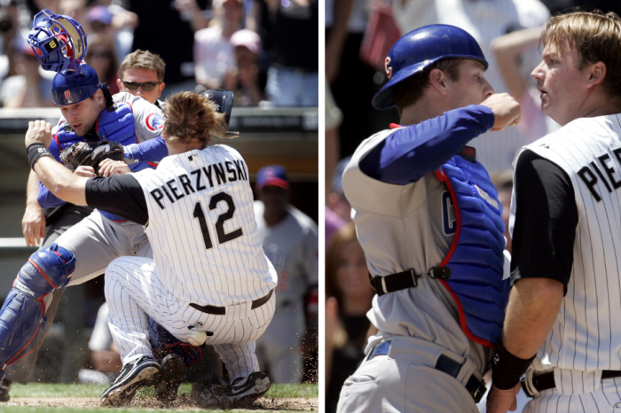 Home Plate Collision Triggers Heated Rivalry Brawl