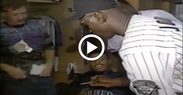 Michael Jordan Asking for Ken Griffey Jr.'s Autograph Proves He's Just Like Us
