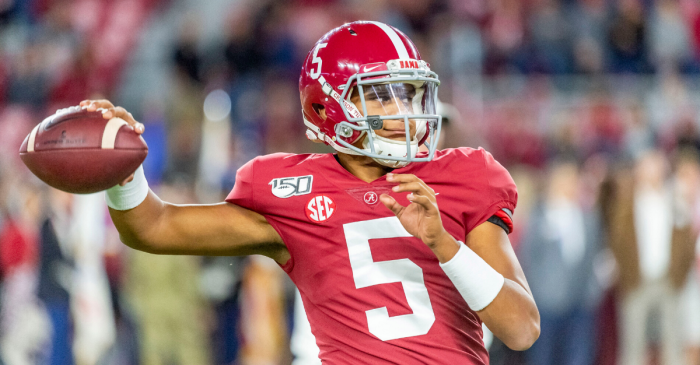 Taulia Tagovailoa Leaves Alabama, Joins Big Ten Conference