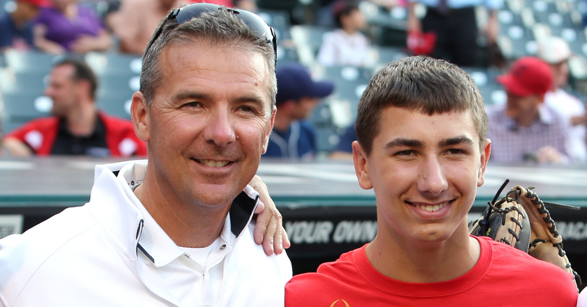 Urban Meyer's Son Quits Baseball to Play College Football