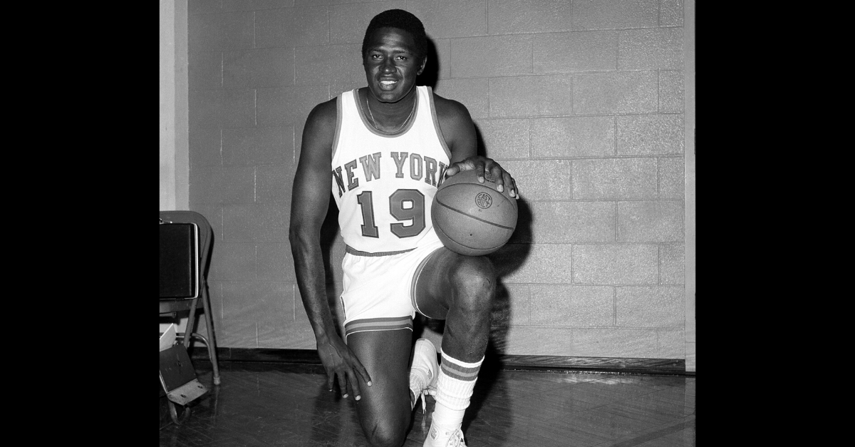 Willis Reed 1970 NBA Finals