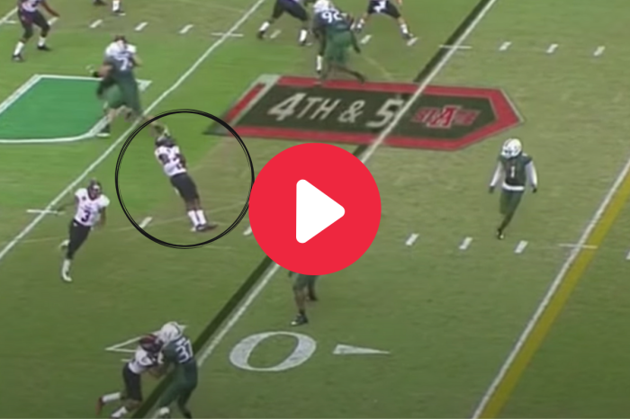 """Playing Dead"" On a Fake Punt is Still the Most Insane Idea Ever"