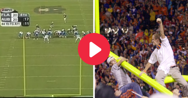 Damon Duval's Field Goal Upset No. 1 Florida and Caused Goal Post Mayhem