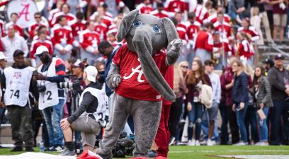 Why is Alabama's Mascot an Elephant Named Big Al?