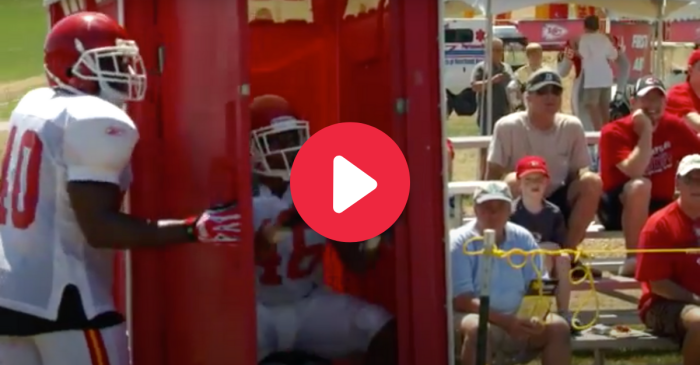 The Chiefs' Port-A-Potty Drill Is The Crappiest Drill Ever