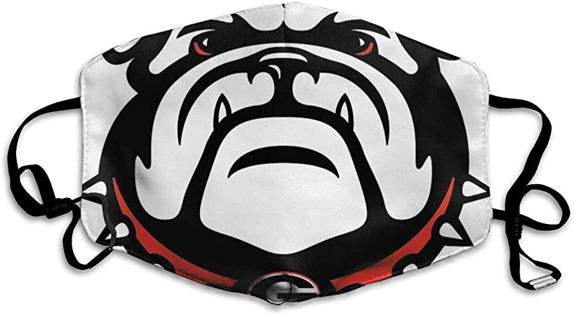 Comfortable Adjustable Georgia Bulldogs Facial Decorations for Women and Men