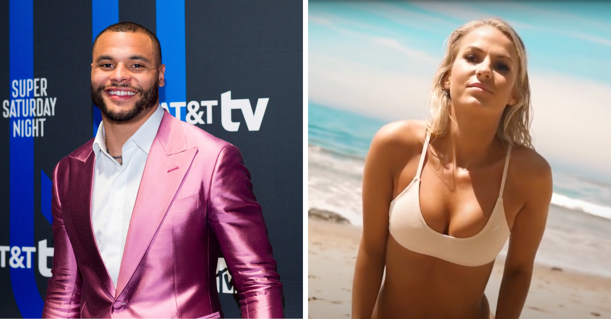 Who is Dak Prescott's New Model Girlfriend?