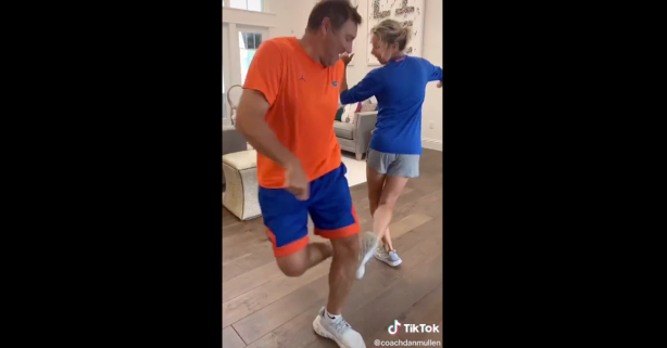 Dan Mullen, Wife Take TikTok Challenge and Bust Out Their Dance Moves