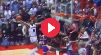 "Dr. J's ""Rock the Baby"" Dunk Made Everyone's Jaws Drop"