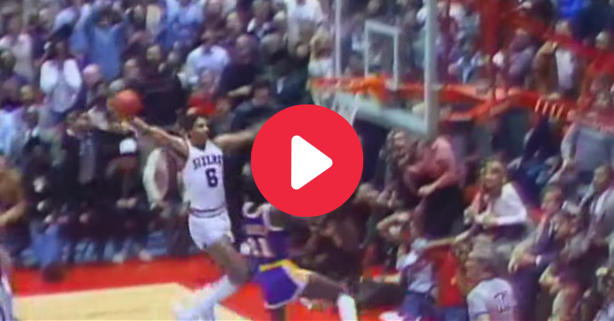 """Dr. J's """"Rock the Baby"""" Dunk Made Everyone's Jaws Drop"""