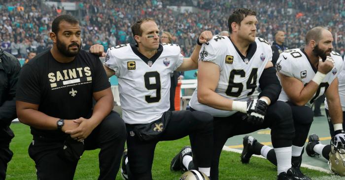 Drew Brees Slammed for 'Disrespecting the Flag' Comments