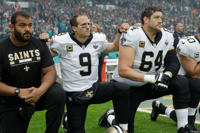Drew Brees Slammed for 'Disrespecting the Flag' Comments