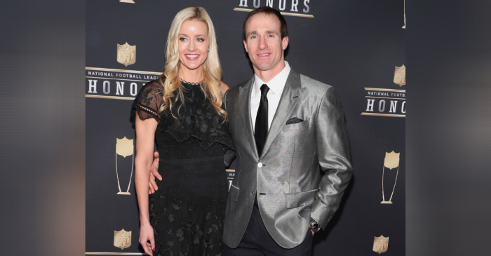 Drew Brees Met His Wife After Downing 17 Shots on His Birthday