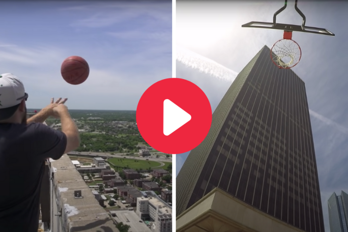 The World's Highest Basketball Shot Is Still Unbelievable