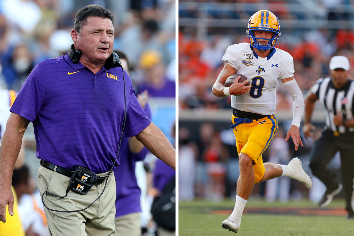 Ed Orgeron's Kids Are Following His College Football Footsteps
