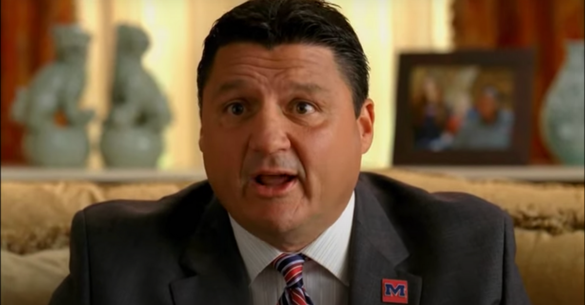 "Ed Orgeron's ""The Blind Side"" Appearance Proved He Could Out-Recruit Nick Saban"