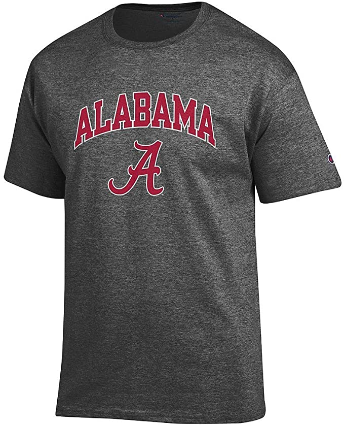 Elite Fan Shop NCAA Men's Short Sleeve T-Shirt Charcoal Arch