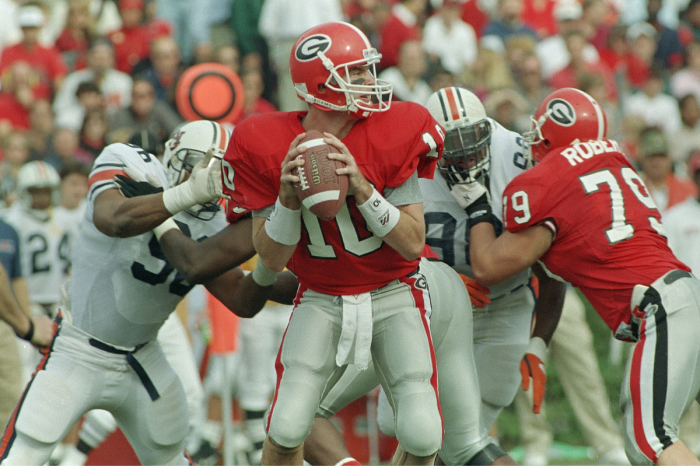 Eric Zeier Rewrote Georgia's Record Books. Where Is He Today?