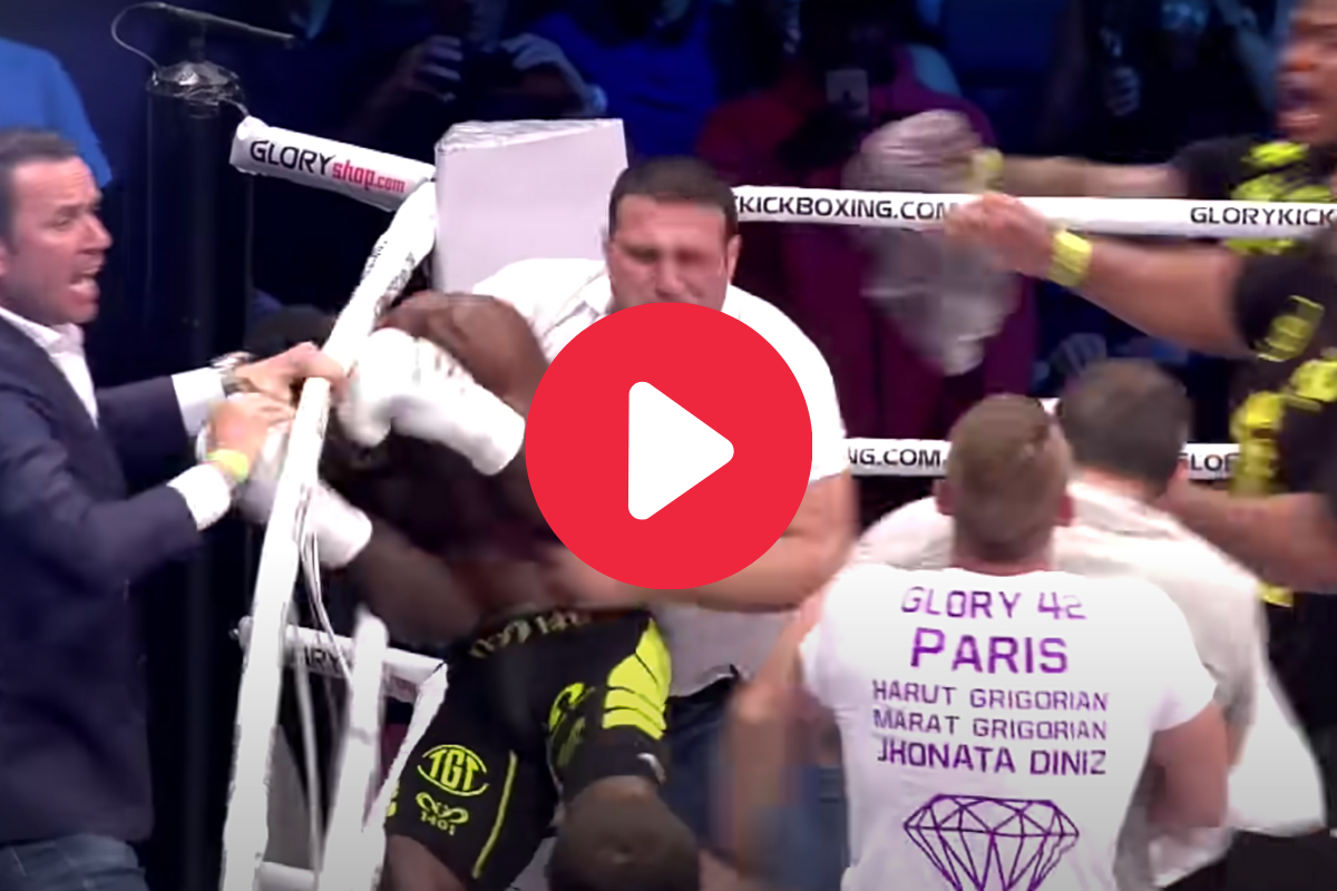 Fans Attack Fighter After Vicious Blindside Knockout
