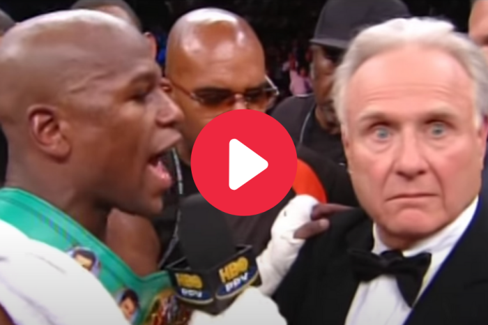 "Floyd Mayweather Told Reporter ""You Ain't S***!"" Then Almost Got Whooped On The Spot"