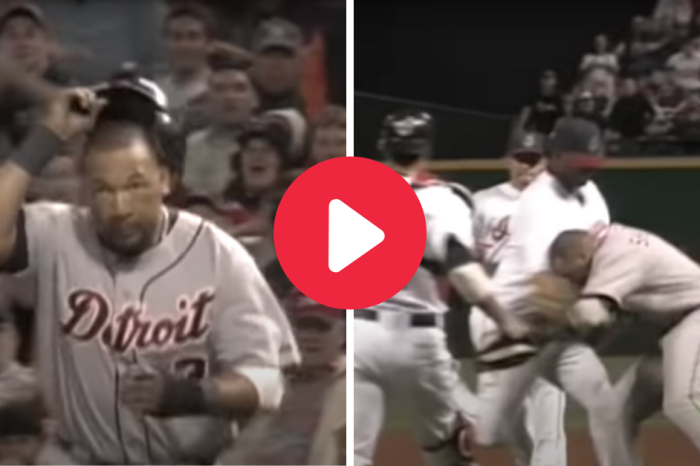 Gary Sheffield Charges Pitcher After Pickoff, Wild Brawl Ensues
