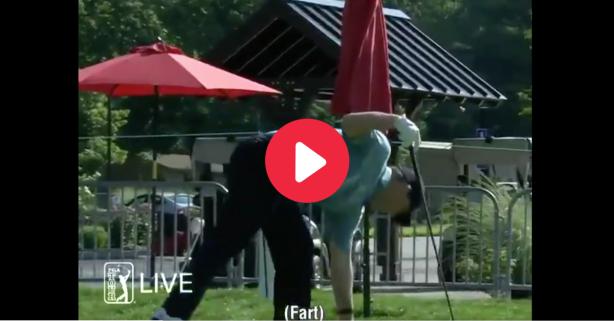 Golfer Rips Massive Fart on Live TV After Tee Shot