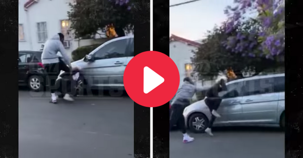 J.R. Smith Beats Up Protestor for Vandalizing His Truck