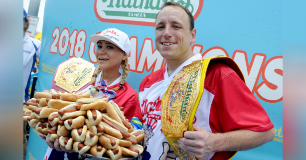 Joey Chestnut's Net Worth Proves Eating Competitively Pays Really Well