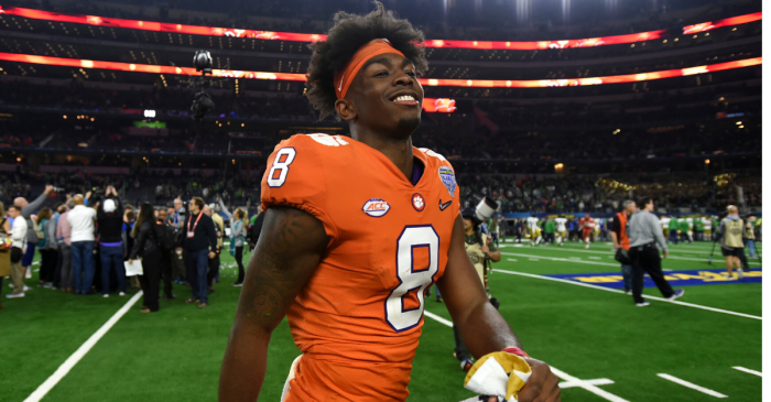 Clemson's Top WR Out for Season with Career-Threatening Injury
