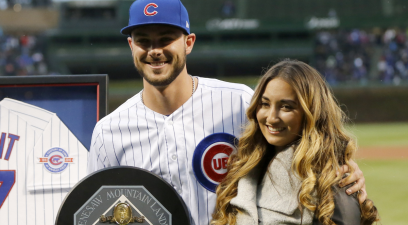 Kris Bryant Married His High School Sweetheart & Started a Family