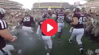 Experience Texas A&M's Kyle Field Entrance in Go-Pro Video