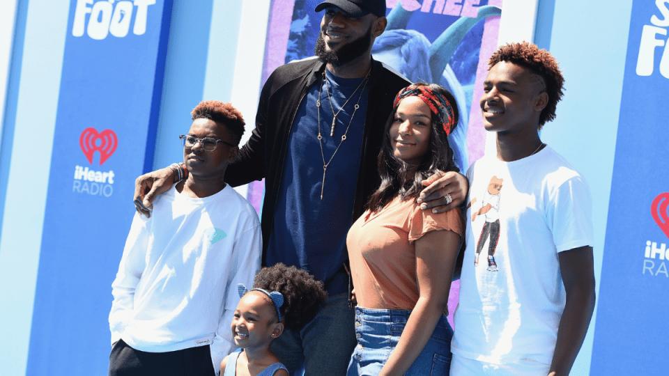 LeBron & Savannah James Are Raising a Family of Future Stars