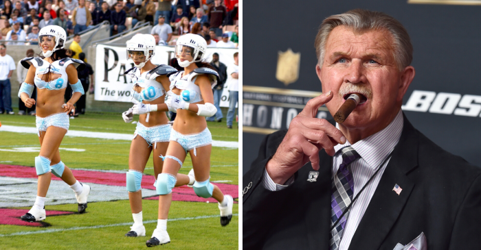 Mike Ditka Named Chairman of New 'Lingerie Football League'