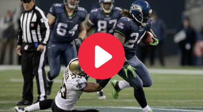 "Marshawn Lynch's ""Beast Quake"" Run Was 15 Seconds of Madness"