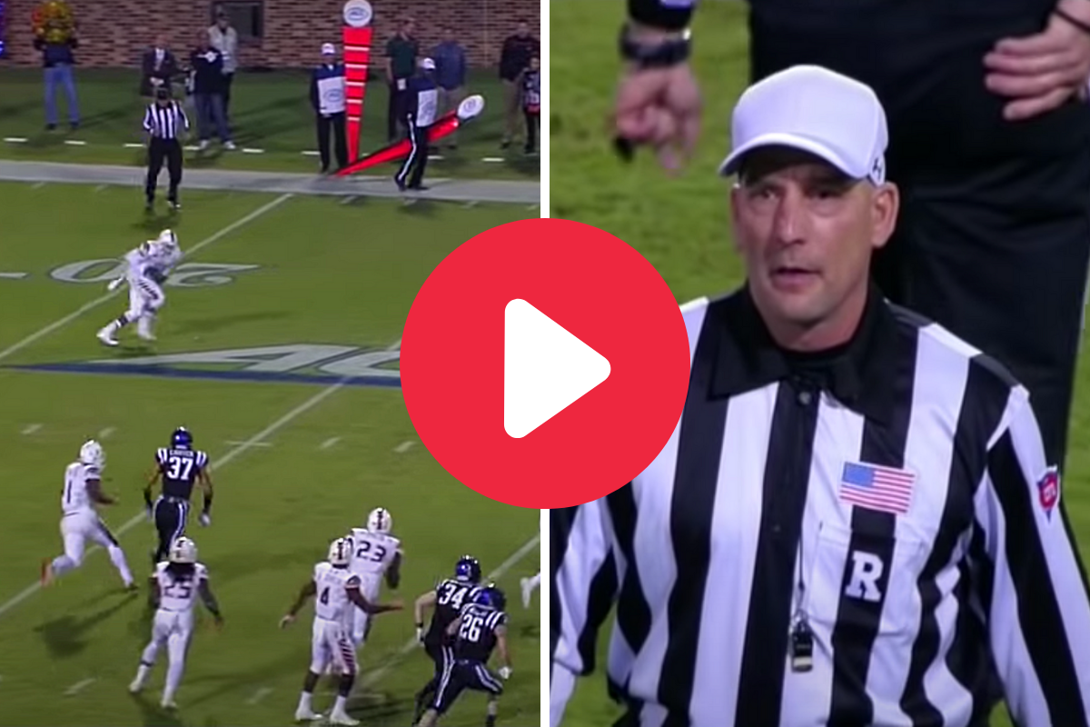 Controversial 8-Lateral Miracle TD Even Confused The Refs