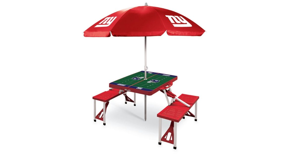 NFL Picnic Table