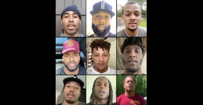 "Players Send Powerful Video to NFL: ""We Will Not Be Silenced"""