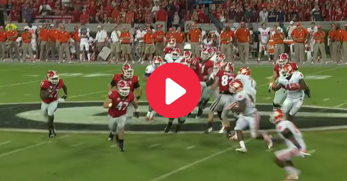 Nick Chubb's 1st Career Touchdown Left Clemson in the Dust