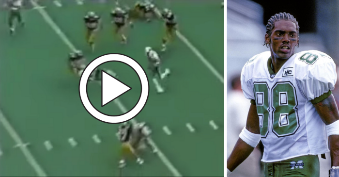 Randy Moss' Hurdling 90-Yard Touchdown Flashed His Greatness