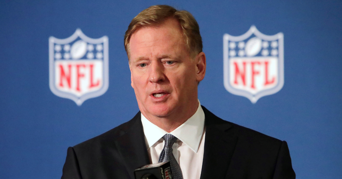"Roger Goodell: ""We Were Wrong,"" Vows to Protest With NFL Players"