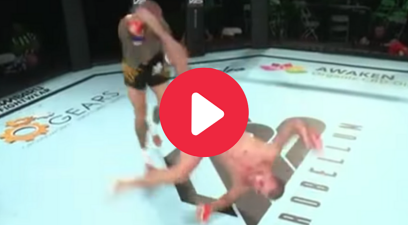 MMA Fighter's Rare 'Rolling Thunder' Knockout is Pure Gold