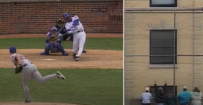 Sammy Sosa Breaks Apartment Window With Walk-Off Blast