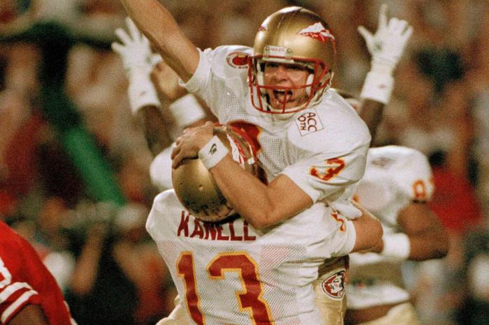 Florida State Won 1993 National Title on Scott Bentley's Clutch Kick