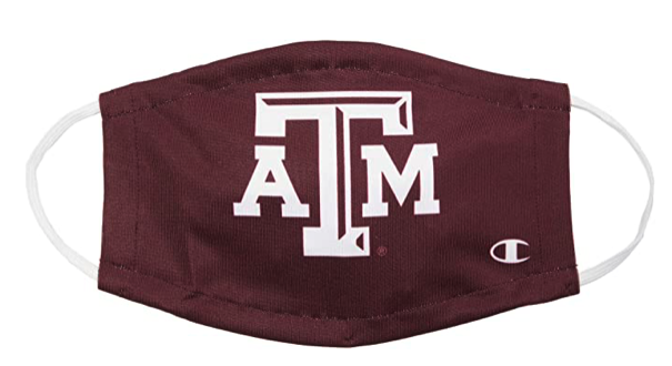 Champion College Texas A&M Aggies Ultrafuse Face Mask