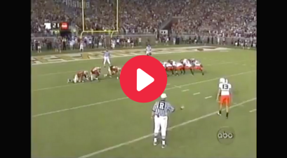 """The Miami Muff"" Finally Ended Florida State's FG Curse"